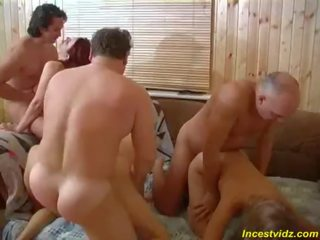 Group sex in one family